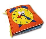 Quiet Book-Libro sensorial de fieltro para el desarrollo de habilidades motoras de los...