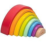 WOOMAX - Arcoíris de madera woomax (46479)