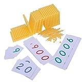 Baoblaze Educación para Niños Montessori Toy Bank Juego para Niños Material Didáctico...