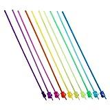 NUOBESTY 10 Piezas de Manecillas para Enseñanza Manual Mini Resina Coloridas Imágenes de...