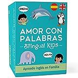 AMOR CON PALABRAS - Bilingual Kids 🌎   Juegos de Mesa para Niños para Aprender a Leer...