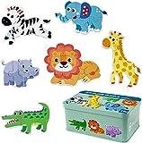 Comius Sharp Puzzle de Madera, 6 Pack Rompecabezas Puzzle Juguetes Bebes para Niños de 1...