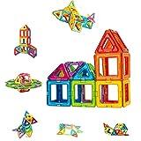 CONDIS 42 Piezas Bloques de Construcción Magnéticos para Niños Kit de Inicio, Juegos de...