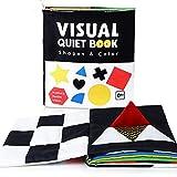libro sensorial,libro tela,Educativo Temprano,Libro para bebés Libro visual silencioso...