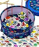 Jaques of London Juego de pesca magnética   Juguetes educativos para niños pequeños  ...
